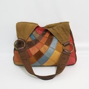 Lucky Brand Colorful Leather Bag